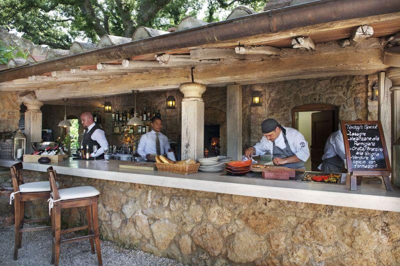 Borgo Santo Pietro hotel treehouse bar lounge