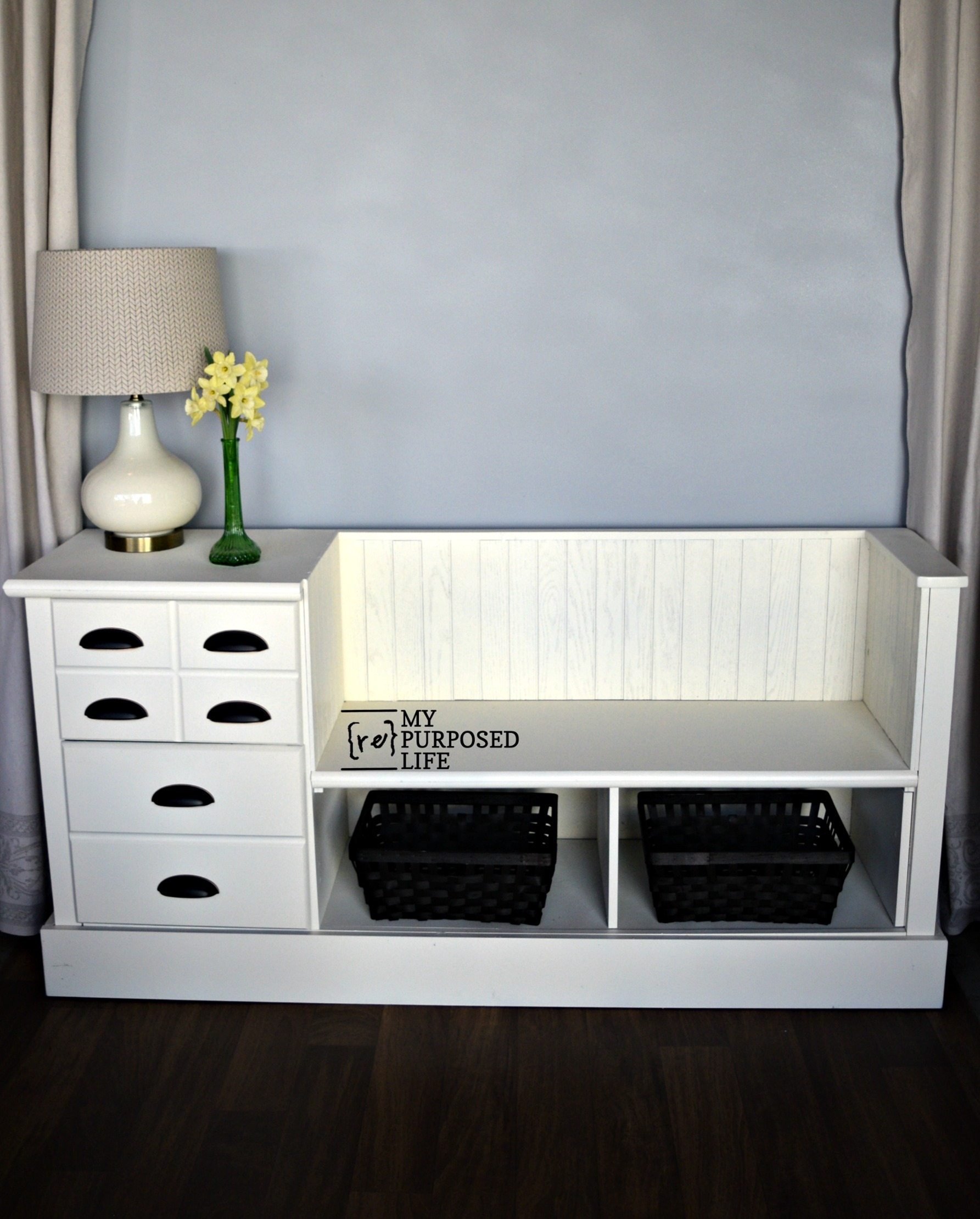 Chest Of Drawers Storage Bench