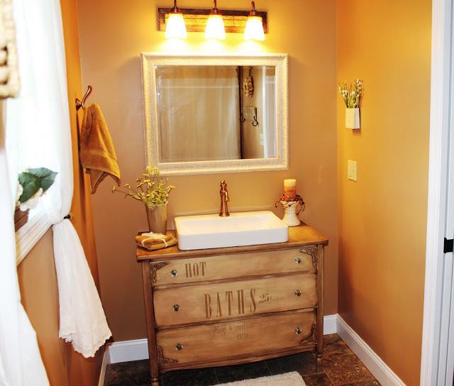 Chest of Drawers Bathroom Vanity
