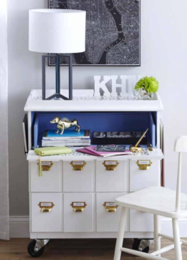 Convert Drawers into a Drop Leaf Desk chest of drawers