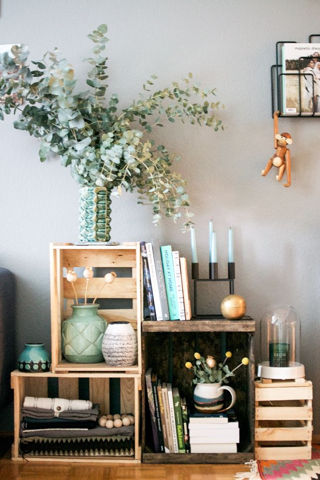 Decorating With Wine Crates