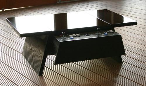 Incredible Dual Arcade Coffee Table Alphanode Cool Chair Designs And Ideas Alphanodeonline