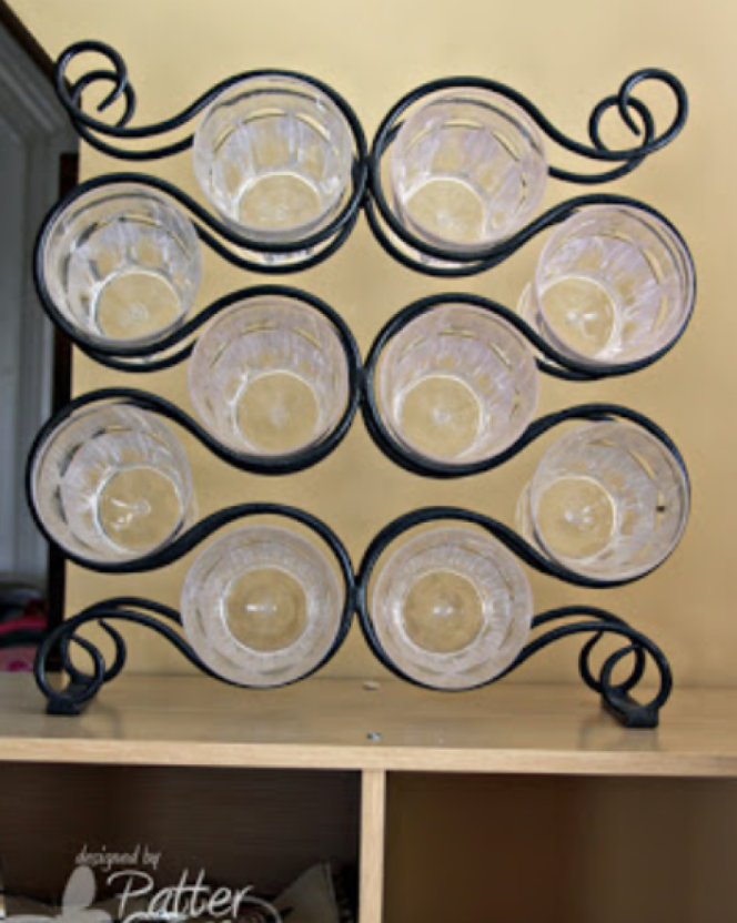 Elegantly Hold All Your Glassware In A Wine Rack