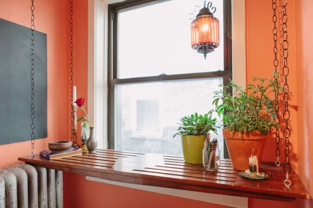 window sill Extend Your Window Sill Into Work Space