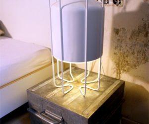 Multifunctional Cage Lamp by Rodrigo Vairinhos