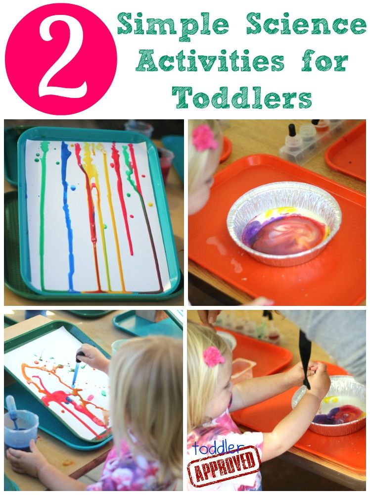 Simple science for toddlers