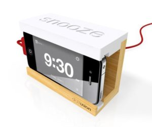 Snooze iPhone Wood Dock