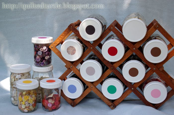 Wine Rack For Sorting Additional Craft Supplies