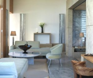 The luxurious Amanzoe Villas in Greece