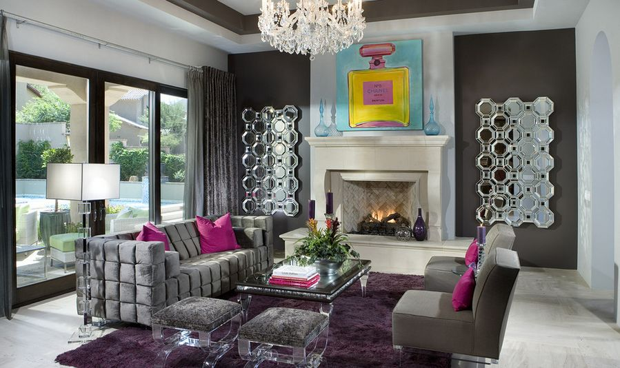 Superieur Interior Design Ideas For A Glamorous Living Room