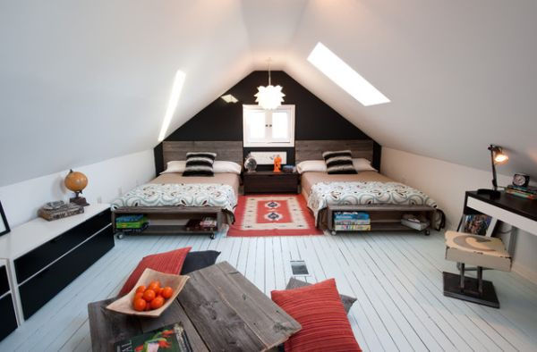 Lovely Creative Ways Of Using The Attic Space Nice Ideas