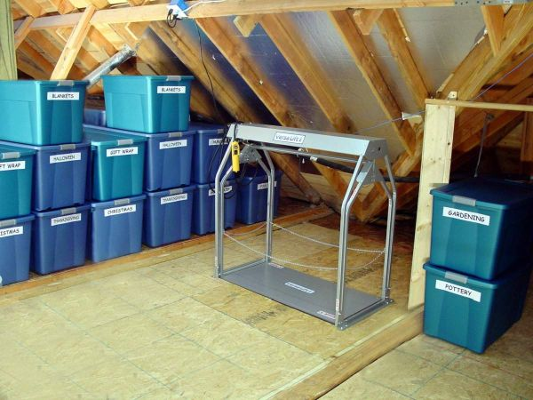 6 Steps To Organizing The Attic