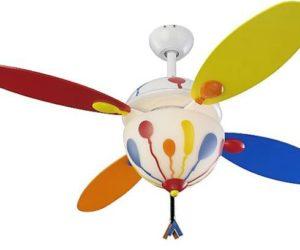 Balloon Ceiling Fan by Monte Carlo