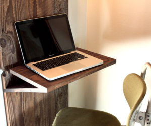 The Minimalist Cascade Laptop Table