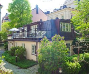 Renovated 1880 house in Stockholm