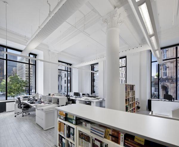 Montreal bureau restored office