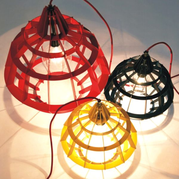 The Beauty of Cage Lamps