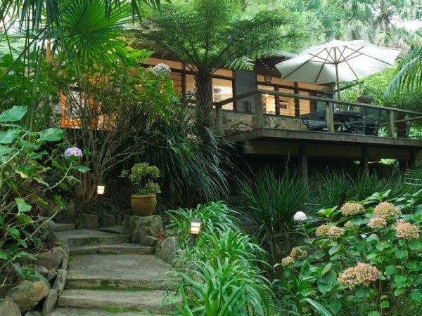 Charming Stone Cottage Hidden Among Tree Ferns