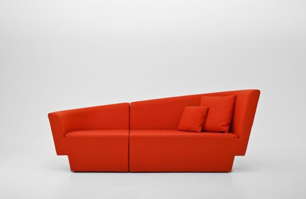 Asymmetrical Chopin Sofa By Tomek Rygalik