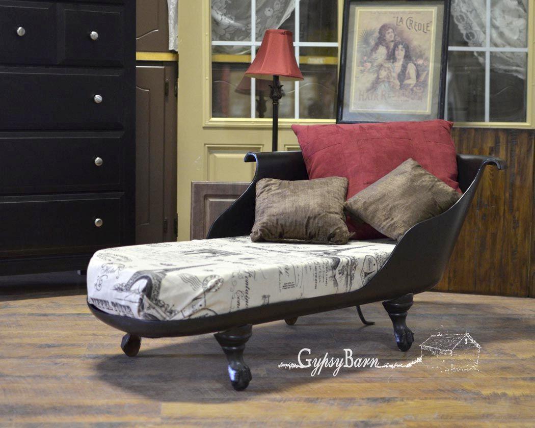 clawfoot lounge chair