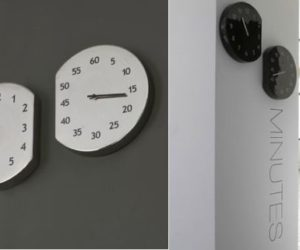 Beautiful Espace Temps Wall Clock Pictures