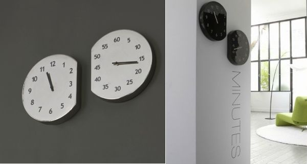 Wonderful Espace Temps Wall Clock Nice Design