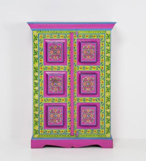 Colorful hand painted furniture by kare design for Hand painted furniture