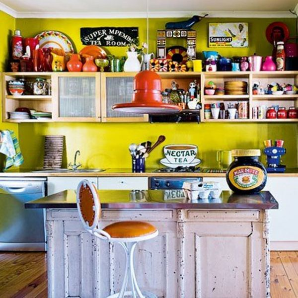 bright coloured kitchen accessories 7 tips for decorating the breakfast bar 4908