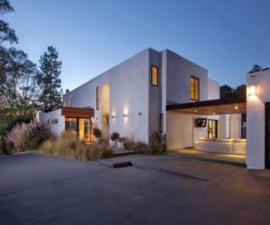 4-bedroom contemporary residence in Beverly Hills