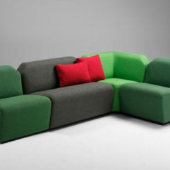The Impressive Lava Modular Sofa System
