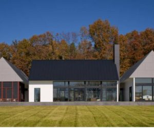The modern Bercherer House in Virginia