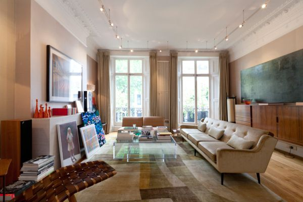 5 Story Property In Notting Hill With An Eclectic Interior
