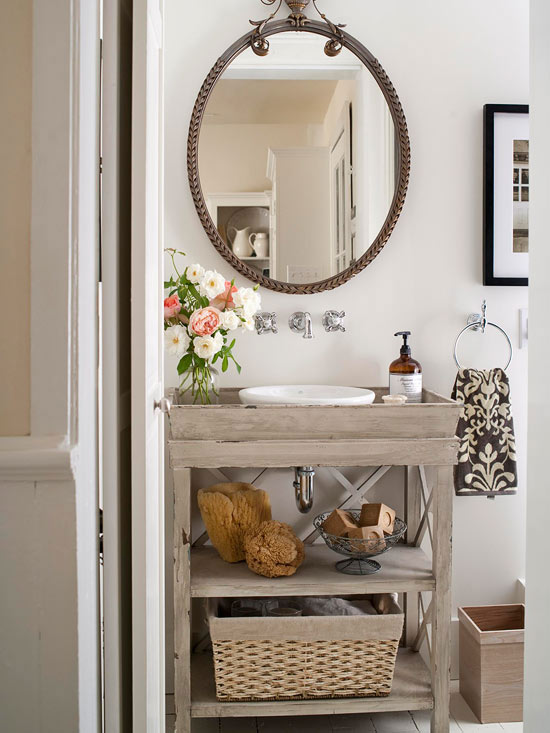7 simple single vanity design ideas - Bathroom vanities small spaces decoration ...