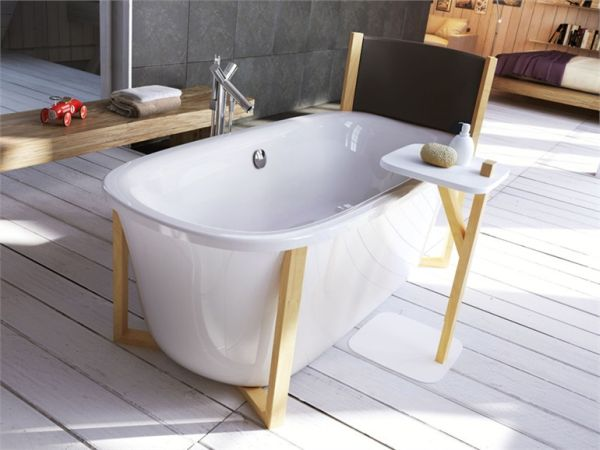 Creative freestanding bathtub by Giopato & Coombes
