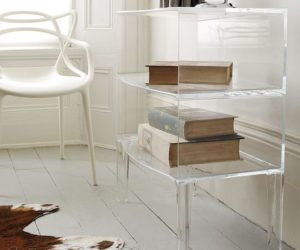 The Ghost Buster Table By Philippe Starck The Ghost Buster Table By  Philippe Starck · KARTELL Optic Storage Cube