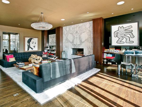 Lenny Kravitz's ex-Soho penthouse is on the market