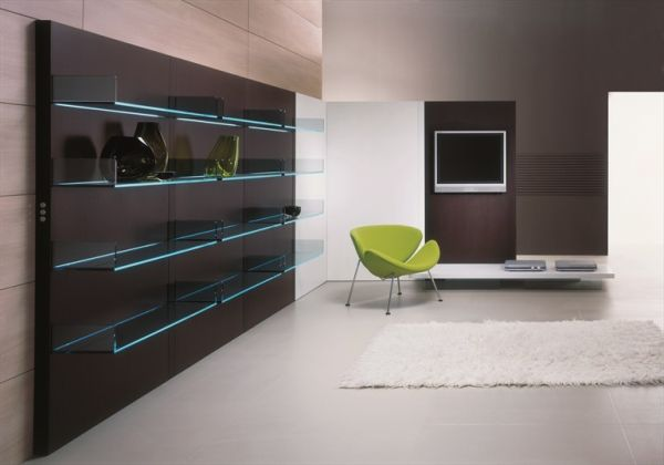 The Lighterie glass storage unit by Donato D'Urbino