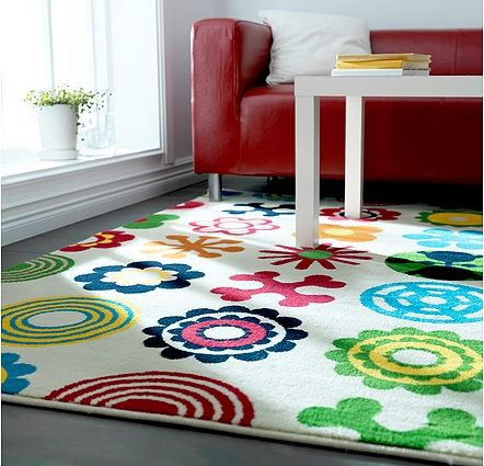 Lusy Blom Kids Rug From Ikea