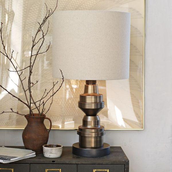 Superb Industrial Marine Breynaert Table Lamp