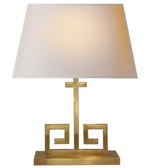 Elegant Kate Table Lamp With Gold Base