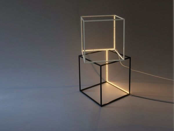 The Supercube LED floor lamp