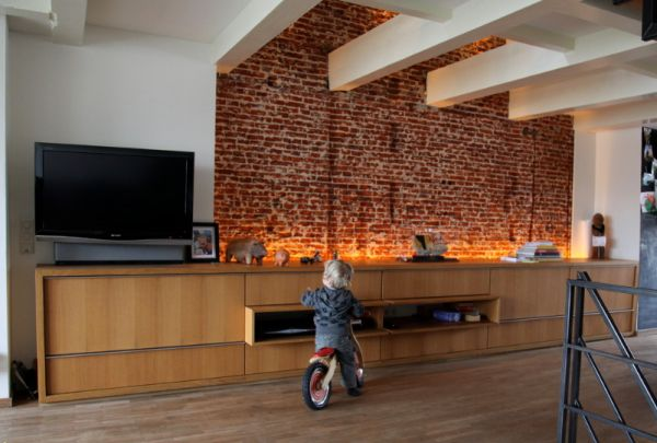 How To Integrate Exposed Brick Walls Into Your Interior Décor Part 42