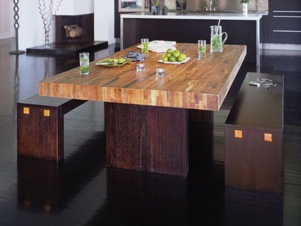 Santomer dining table the perfect result of serendipity