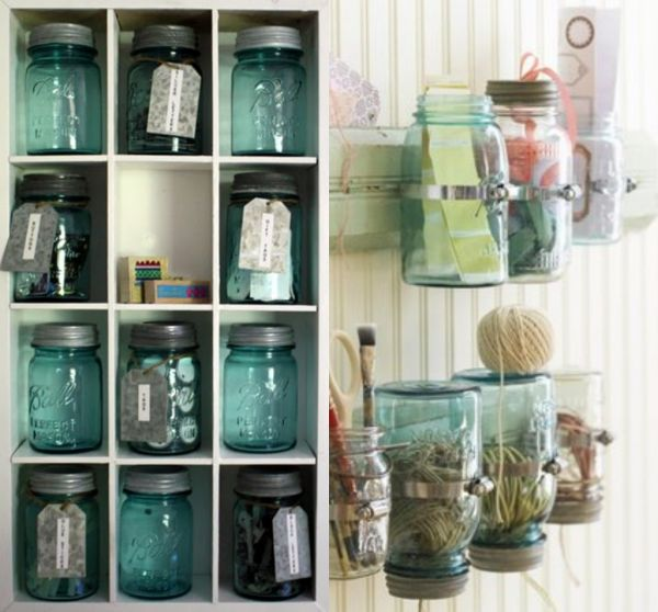 Design Ideas Bathroom Mason Jars ~ Ways to decorate with mason jars