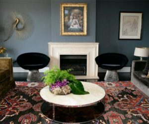 Sophisticated dark interior decors by Melissa Collison
