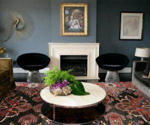 Sophisticated dark interior decors by Melissa Collison