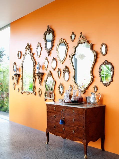 5 inspiring ways of displaying your collections - Home decor wall mirrors collection ...