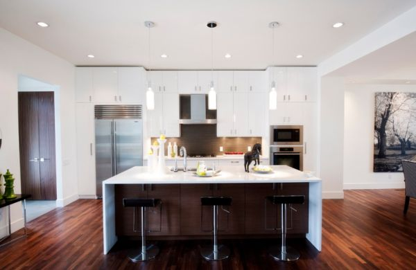 15 modern kitchen island designs we love for Design kitchen island online