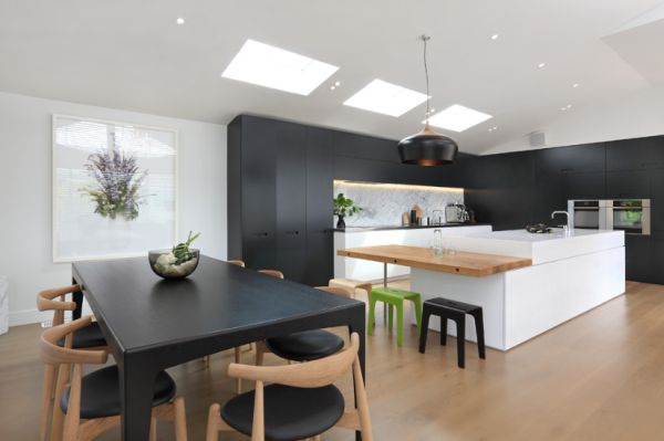 View in gallery. View in gallery. Kitchen islands are a relatively modern  ...