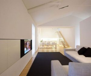 A monastery turned into a residential loft by JM Architecture
